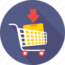 add, add to cart, cart, product, trolley icon