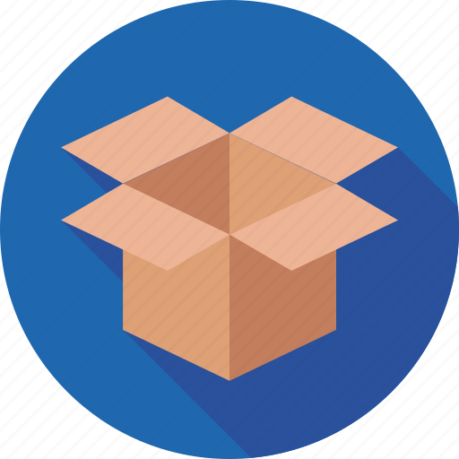 box, delivery, open box, package, parcel icon