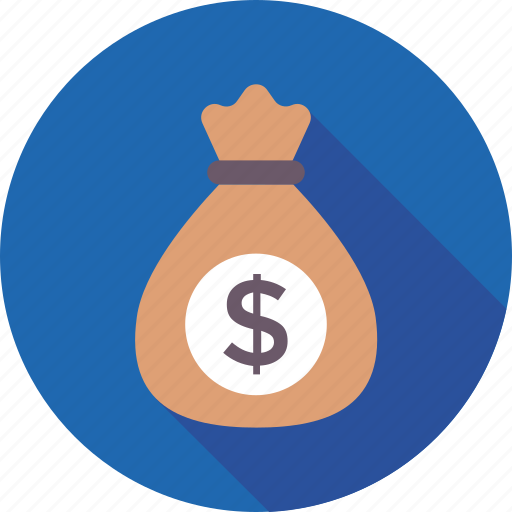 currency, dollar, money bag, money sack, wealth icon