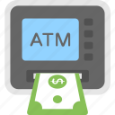 atm, atm machine, automated teller machine, cash dispenser, cash machine icon