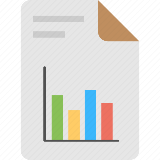 financial report, growth optimization, sales analytics, sales graph, sales report icon