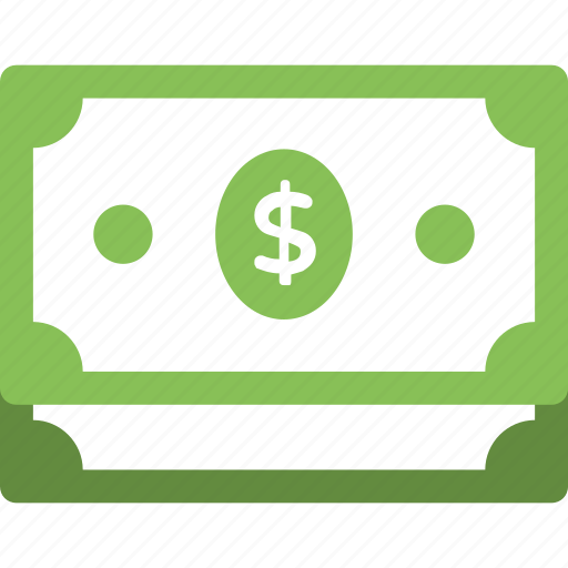 cash, dollar bills, payment, pile of paper money, stack of dollars icon