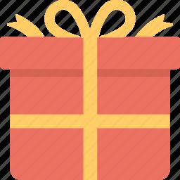 celebration, giftbox, greeting, present, wrapped gift icon