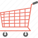 shopping cart, e-commerce, shopping trolley, supermarket, trolley