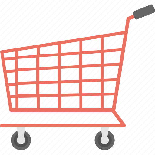 e-commerce, shopping cart, shopping trolley, supermarket, trolley icon