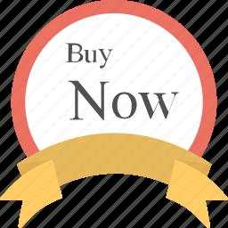 buy now, label, ribbon badge, sale element, sale sticker icon