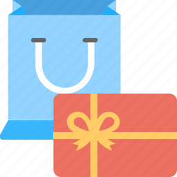 celebrations, gift, goodies, party gifts, shopping icon