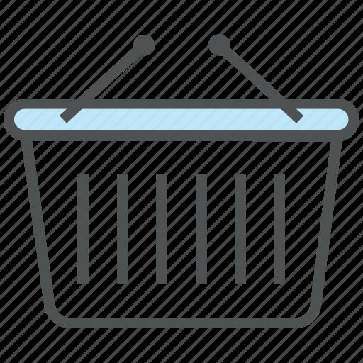 basket, e commerce, hamper, online store, purchase, shopping, shopping basket icon