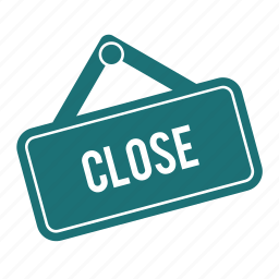close, exit, shop, shopping, store icon