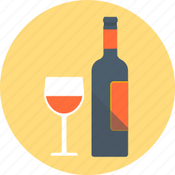 alcohol, drink, glass, red wine, wine icon