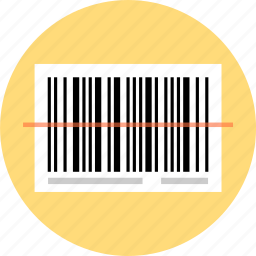 barcode, scan icon