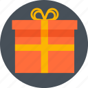 box, christmas, gift, prezent, valentines day icon