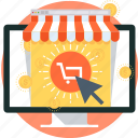 shopping, money, cart, computer, internet, online shop, buy now
