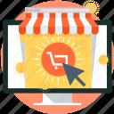 buy now, cart, computer, internet, money, online shop, shopping