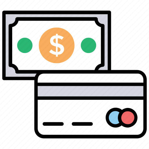 cash payment, online payment, online transactions, payment method, payment option icon