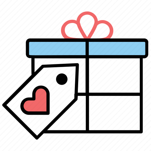 anniversary present, gift, love present, special gift, valentines gift icon