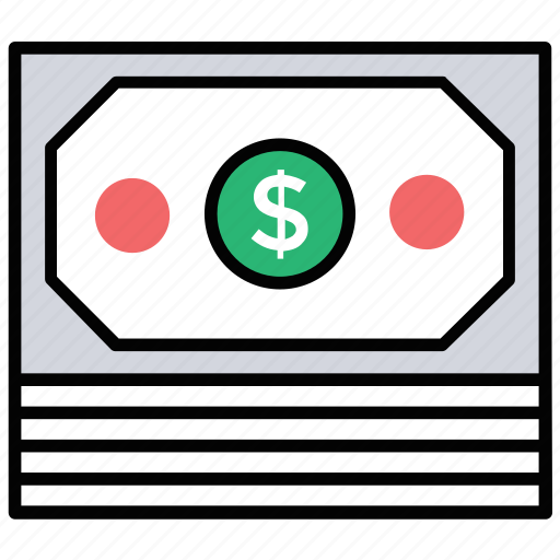 capital, currency, dollars, hard-cash, money icon
