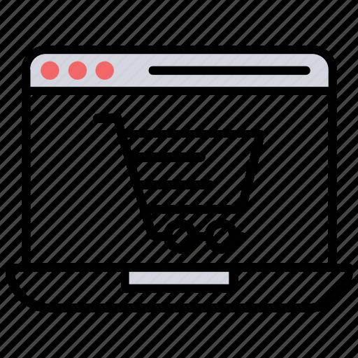 e-commerce, ecommerce website, electronic commerce, online retail, web commerce icon