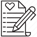 checklist, electronic wishlist, order wishlist, shopping list, wish list icon