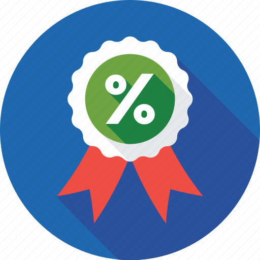 badge, discount, offer, percentage, promotional icon