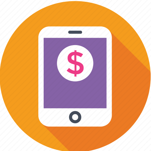dollar, ecommerce, mobile, shopping, store icon