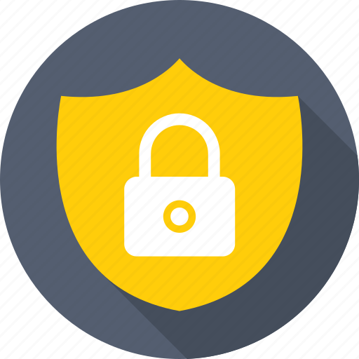 antivirus, defence, lock, protection, shield icon