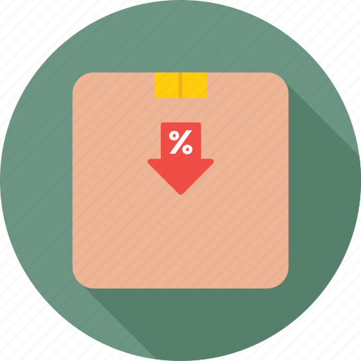 box, offer, package, sale, shopping icon