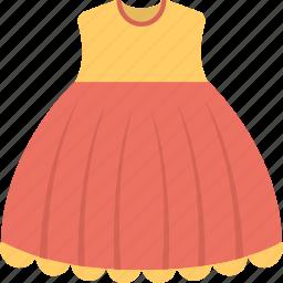 clothes, frock, girl dress, sleeveless dress, summer dress icon