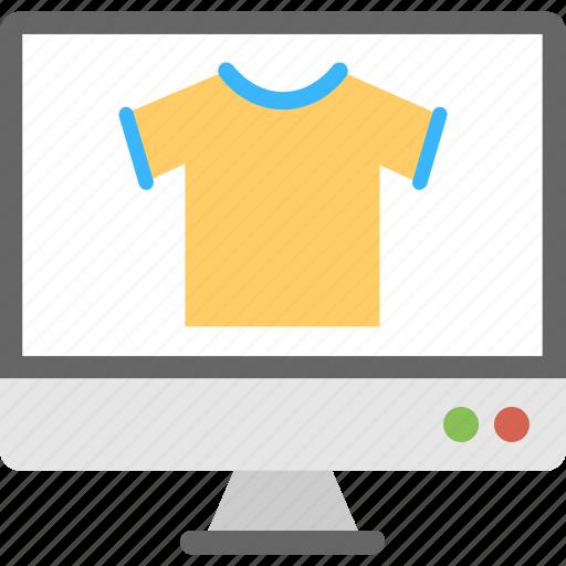 eshopping, internet shopping, online clothes shopping, online shopping, online store icon