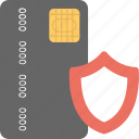 credit card encryption, credit card password security, credit card security, credit card shield icon