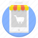 commerce, ecommerce, market, mobile, shop, shopping icon