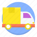 car, delivery, logistics, shopping, transportation, truck icon
