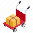 cargo service, delivery, delivery service, gift delivery, luggage delivery icon