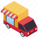 cargo service, delivery service, delivery van, gift delivery, online delivery icon