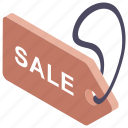 price tag, product label, product price, sale label, sale tag