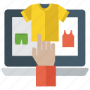 digital marketing, ecommerce, global marketing, online payment, online purchasing, online shopping icon