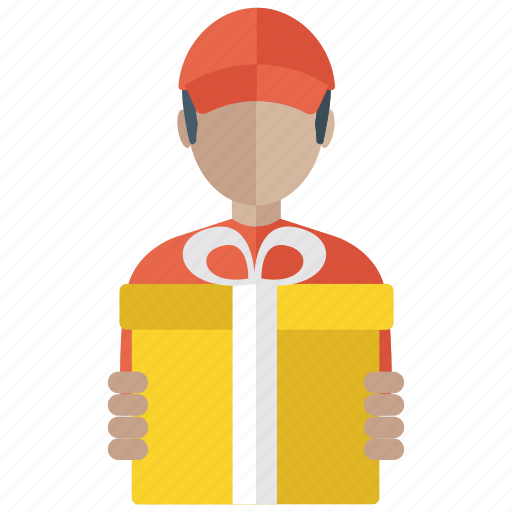 Birthday Gift Delivery Home Logistic Present Icon