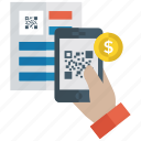 barcode scanning, bill invoice, code scanning, ecommerce, qr code scanner icon