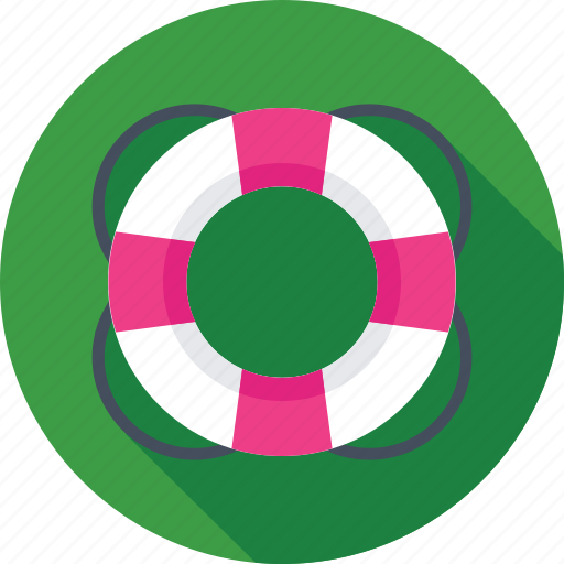 floating, help, help service, lifering, support icon