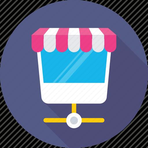 e commerce, m commerce, mobile shopping, online shopping, shopping app icon