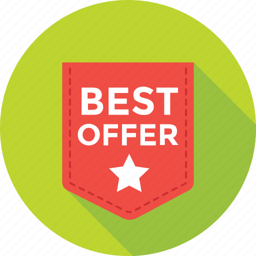 best, best offer, offer, shopping, sticker icon
