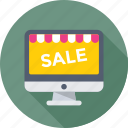 grand sale, offer, online shopping, sale, shopping icon
