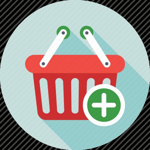 add item, add product, add to basket, basket, shopping icon