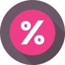 discount, discount offer, interest, offer, percentage icon