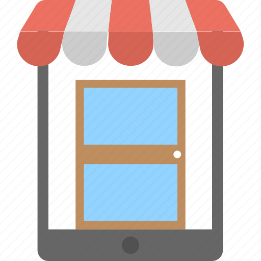 m-commerce, online mobile shop, online mobile store, online shopping, shopping app icon