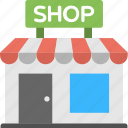 shop, marketplace, store building, sale, store