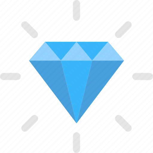 Diamond, gemstone, precious stone, premium quality, shiny diamond icon - Download on Iconfinder
