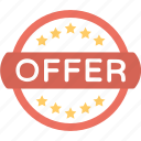 offer, offer label, customer offer, sale element, offer sign