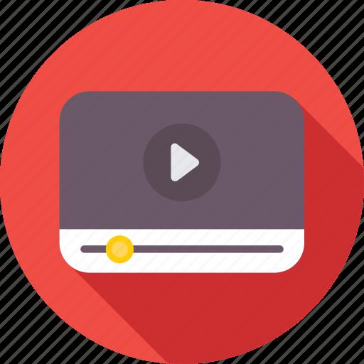 film, media, multimedia, player, video icon