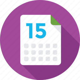calendar, date, day, event, yearbook icon